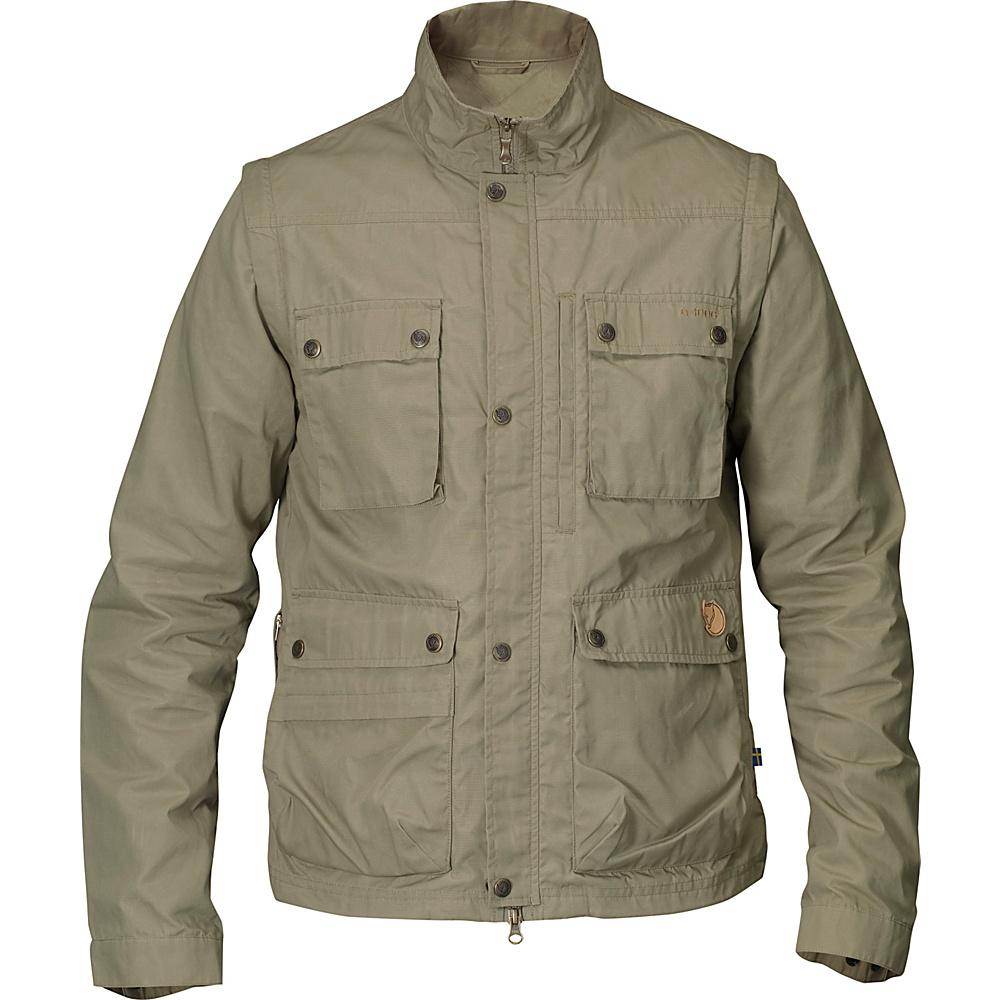 Fjallraven Reporter Light Jacket S - Light Khaki - 44 - Fjallraven Mens Apparel - Apparel & Footwear, Men's Apparel
