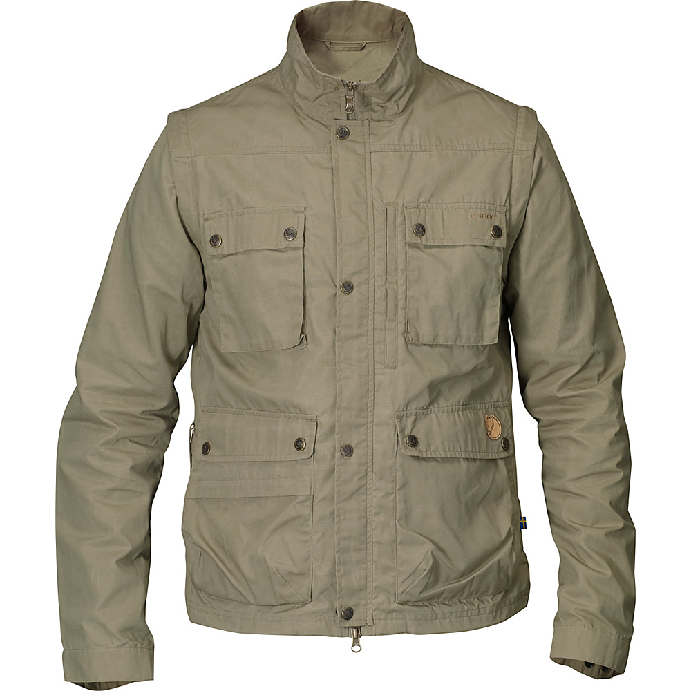 Fjallraven Reporter Light Jacket M - Light Khaki - 44 - Fjallraven Mens Apparel - Apparel & Footwear, Men's Apparel