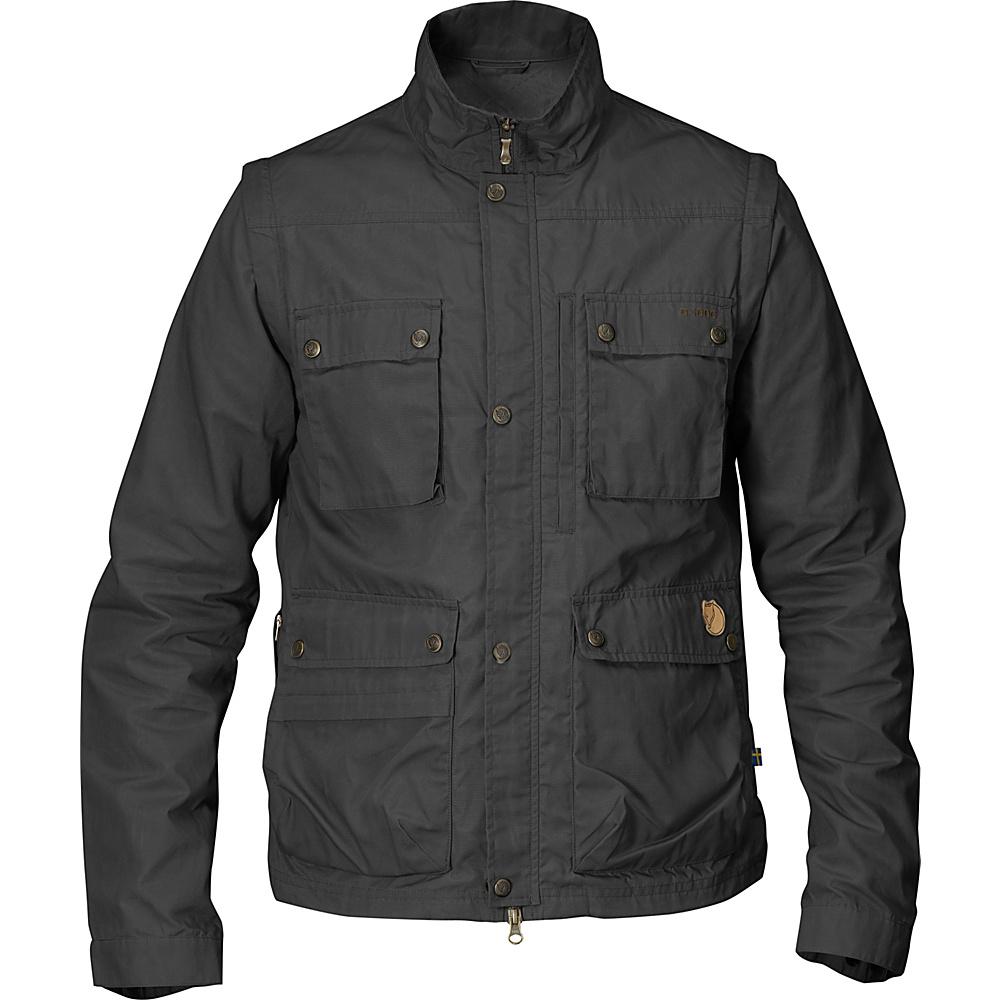 Fjallraven Reporter Light Jacket M - Dark Grey - Fjallraven Mens Apparel - Apparel & Footwear, Men's Apparel