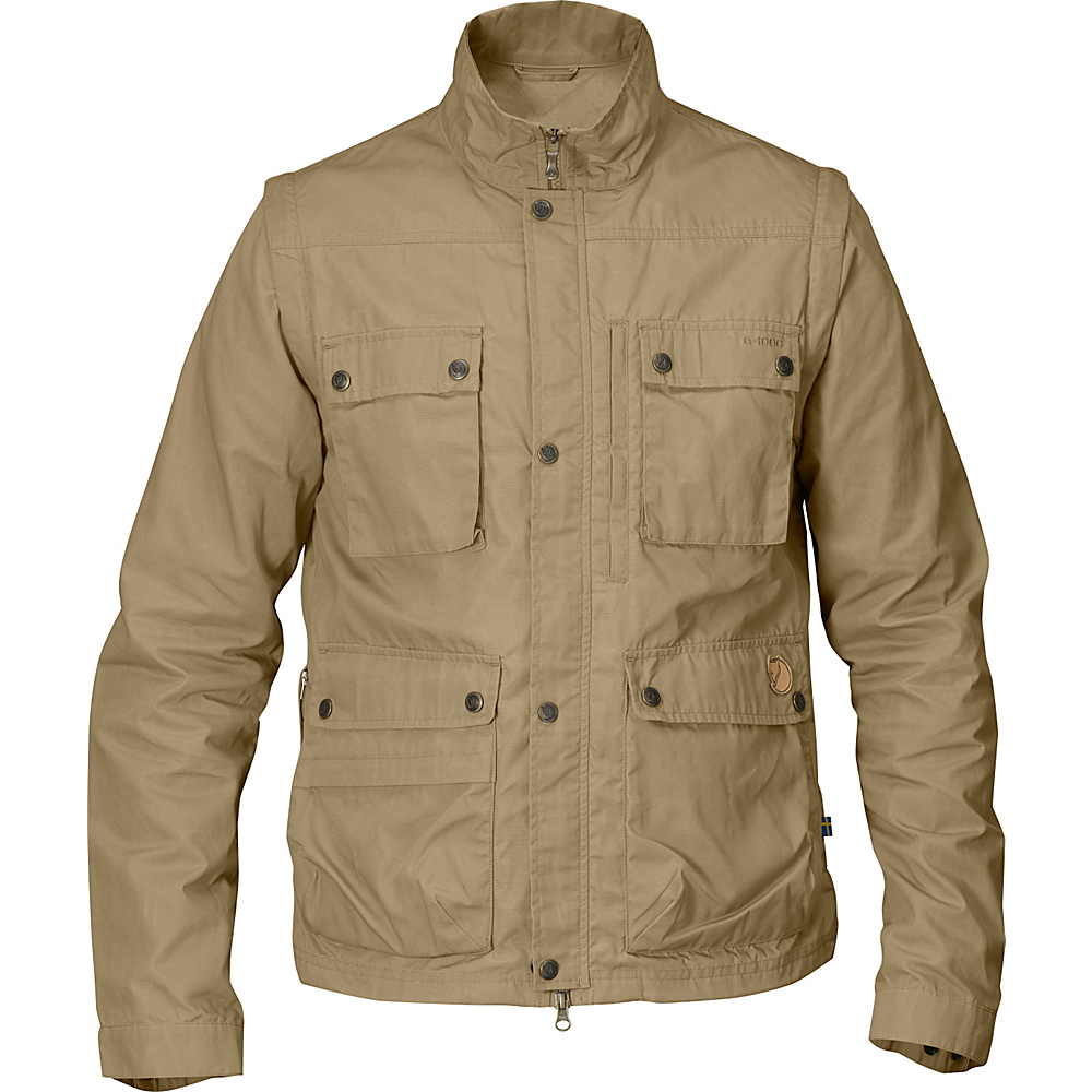 Fjallraven Reporter Light Jacket M - Sand - Fjallraven Mens Apparel - Apparel & Footwear, Men's Apparel