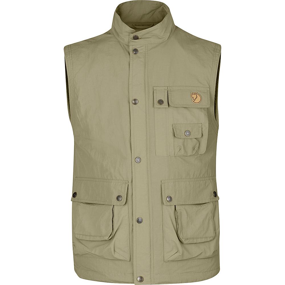 Fjallraven Wild Vest MT L - Light Khaki - 44 - Fjallraven Mens Apparel - Apparel & Footwear, Men's Apparel