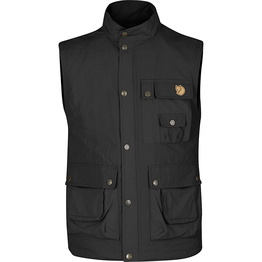 Fjallraven Wild Vest MT XS - Dark Grey - Fjallraven Mens Apparel - Apparel & Footwear, Men's Apparel
