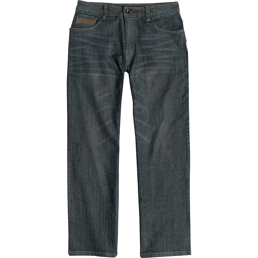 PrAna Axiom Jeans - 30 Inseam 34 - Indigo Tint Wash - PrAna Mens Apparel - Apparel & Footwear, Men's Apparel