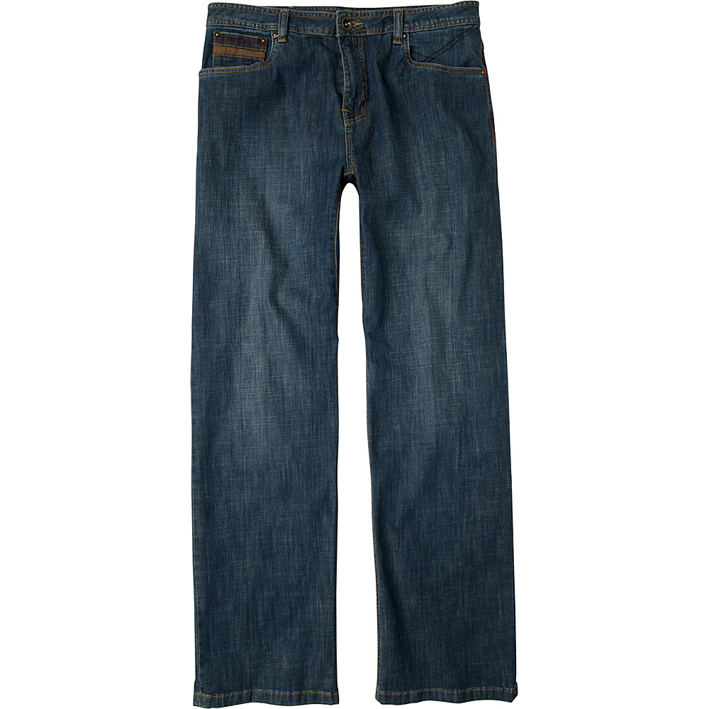PrAna Axiom Jeans - 30 Inseam 34 - Antique Stone Wash - PrAna Mens Apparel - Apparel & Footwear, Men's Apparel