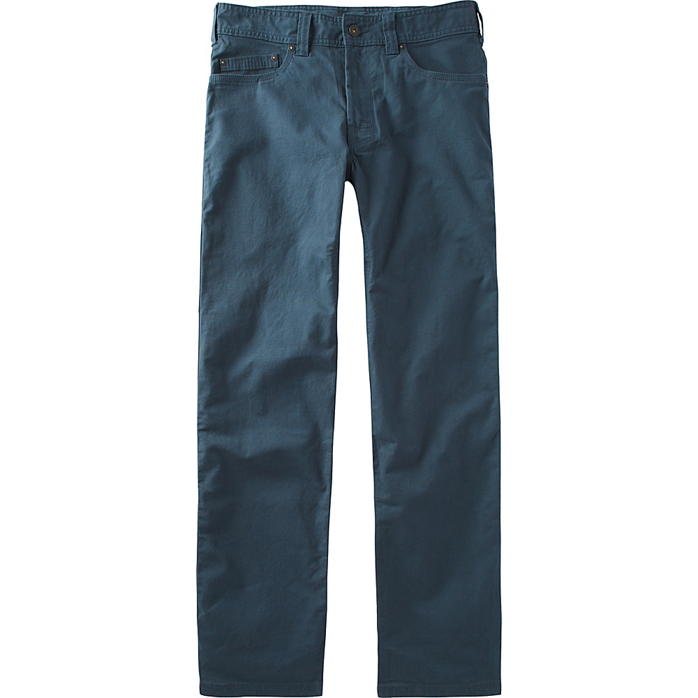 PrAna Bronson Pants - 32 Inseam 38 - Mood Indigo - PrAna Mens Apparel - Apparel & Footwear, Men's Apparel