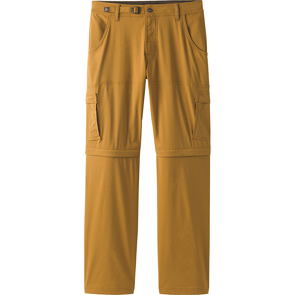 PrAna Stretch Zion Convertible Pants - 34 34 - Charcoal - PrAna Mens Apparel - Apparel & Footwear, Men's Apparel