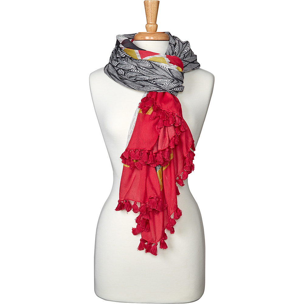 PrAna Lucius Scarf Azalea - PrAna Hats/Gloves/Scarves - Fashion Accessories, Hats/Gloves/Scarves