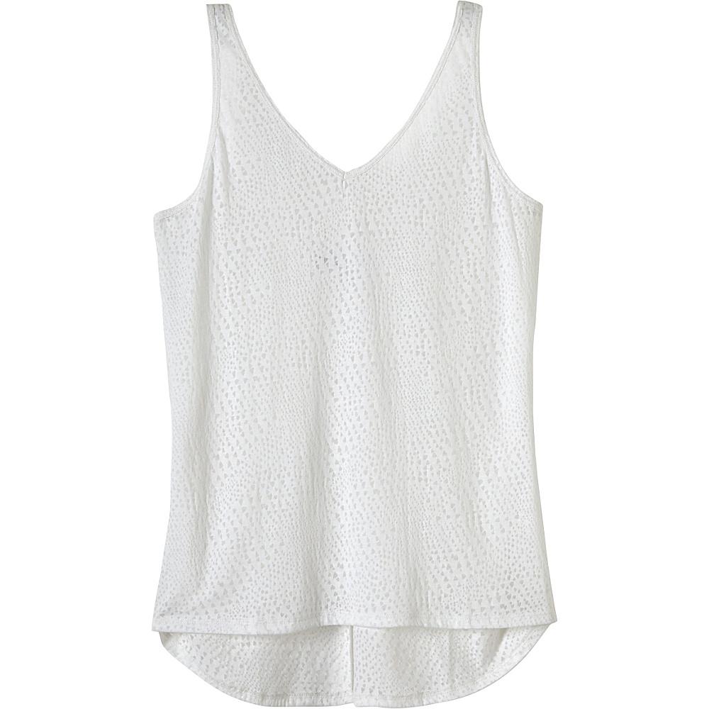 PrAna Abbie Tank S - White - PrAna Womens Apparel - Apparel & Footwear, Women's Apparel