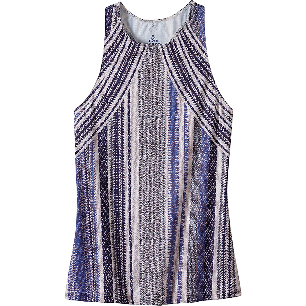 PrAna Boost Printed Top XS - Blue Knitta - PrAna Womens Apparel - Apparel & Footwear, Women's Apparel