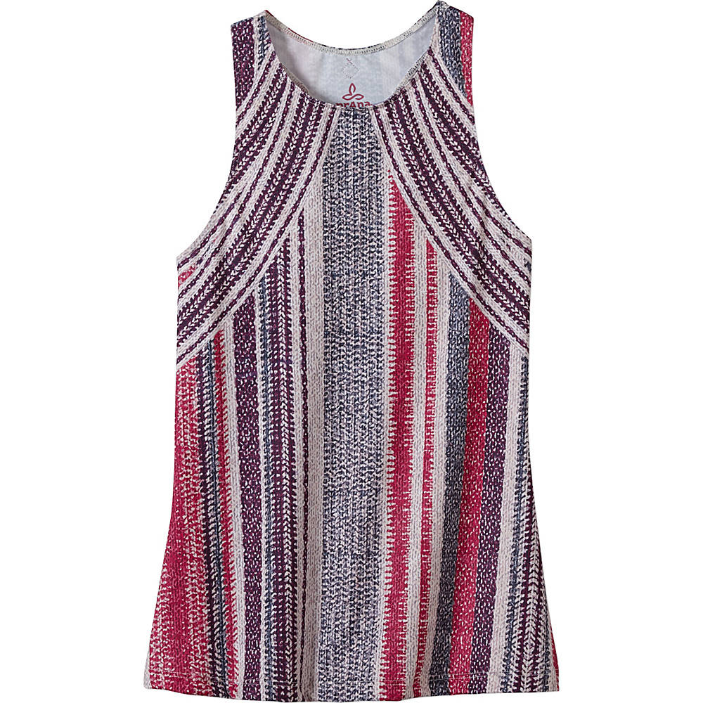 PrAna Boost Printed Top L - Viola Knitta - PrAna Womens Apparel - Apparel & Footwear, Women's Apparel