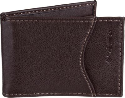 Columbia Front Pocket Wallet with RFID Protection Brown - Columbia Men's Wallets