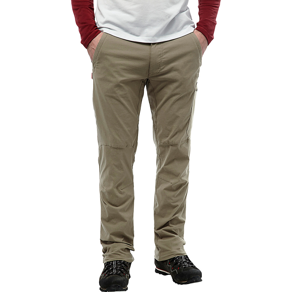 Craghoppers Nosilife Pro Trousers - Regular 32 - Pebble - Craghoppers Mens Apparel - Apparel & Footwear, Men's Apparel
