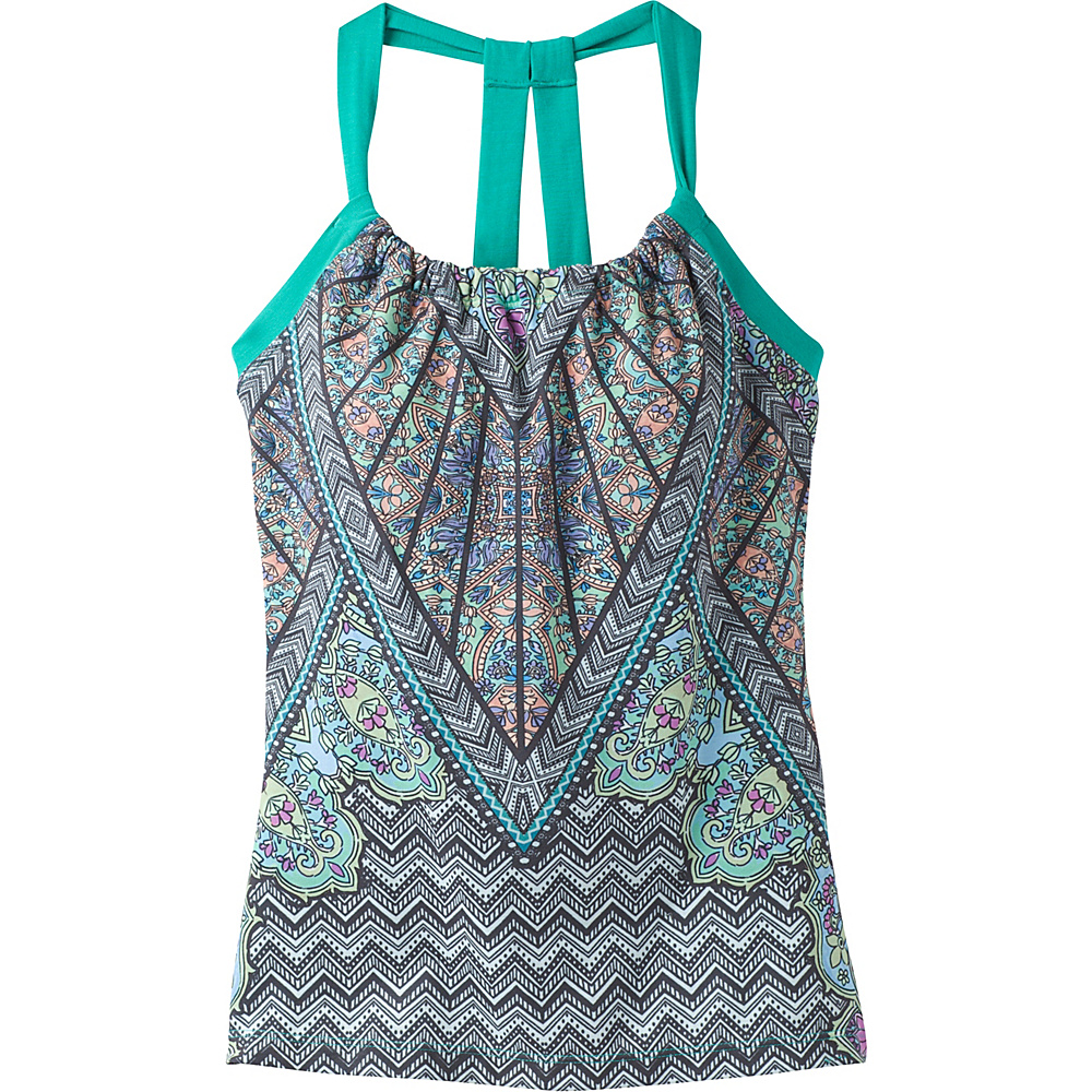 PrAna Quinn Top M - Dragonfly Samba - PrAna Womens Apparel - Apparel & Footwear, Women's Apparel