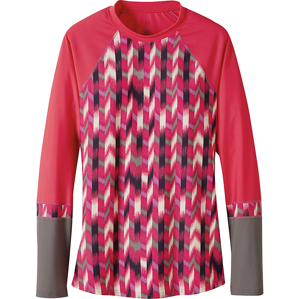 PrAna Lorelei Sun Top M - Azalea Ikat - PrAna Womens Apparel - Apparel & Footwear, Women's Apparel