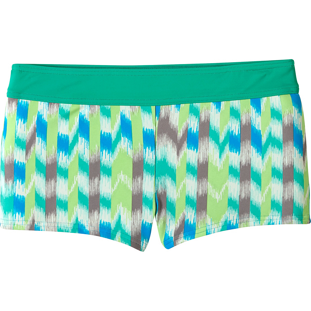 PrAna Raya Bottoms L - Cool Green Ikat - Large - PrAna Womens Apparel - Apparel & Footwear, Women's Apparel