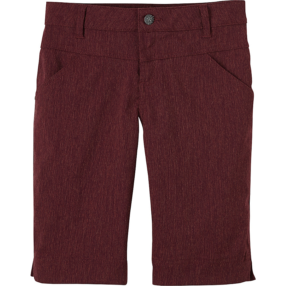 PrAna Tashia Shorts 2 - Black Plum - PrAna Womens Apparel - Apparel & Footwear, Women's Apparel