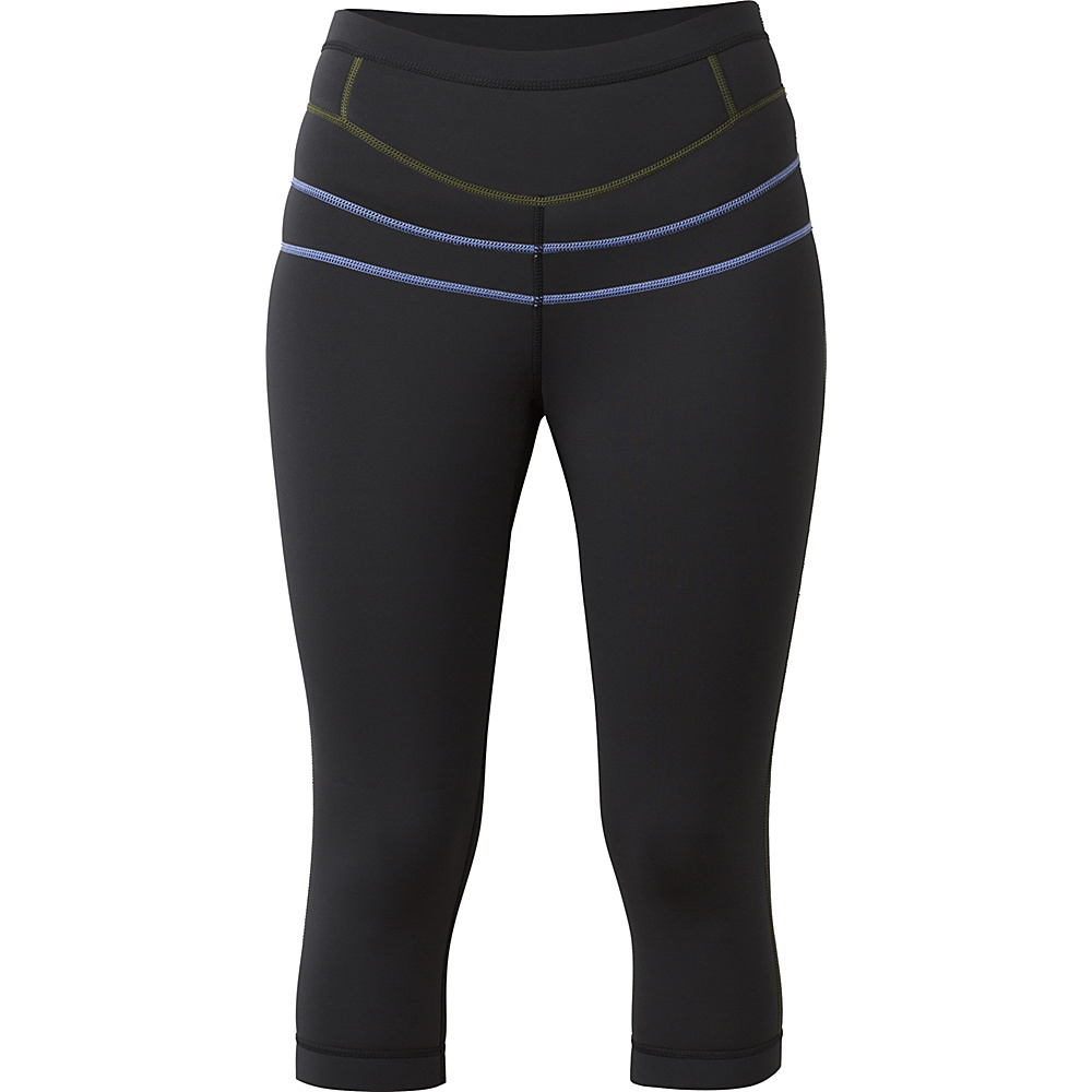 PrAna Ara Swim Tights XS - Solid Black - PrAna Womens Apparel - Apparel & Footwear, Women's Apparel