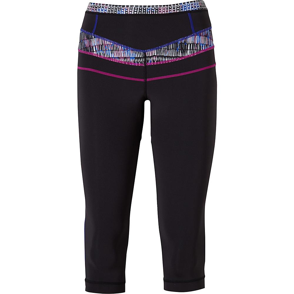 PrAna Ara Swim Tights XS - Black Driftwood - PrAna Womens Apparel - Apparel & Footwear, Women's Apparel