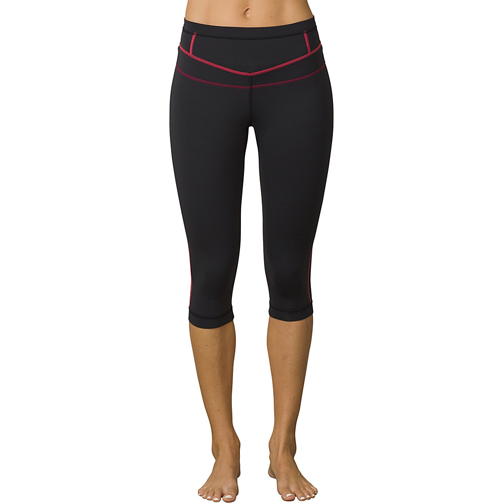 PrAna Ara Swim Tights XS - Black Pop - PrAna Womens Apparel - Apparel & Footwear, Women's Apparel