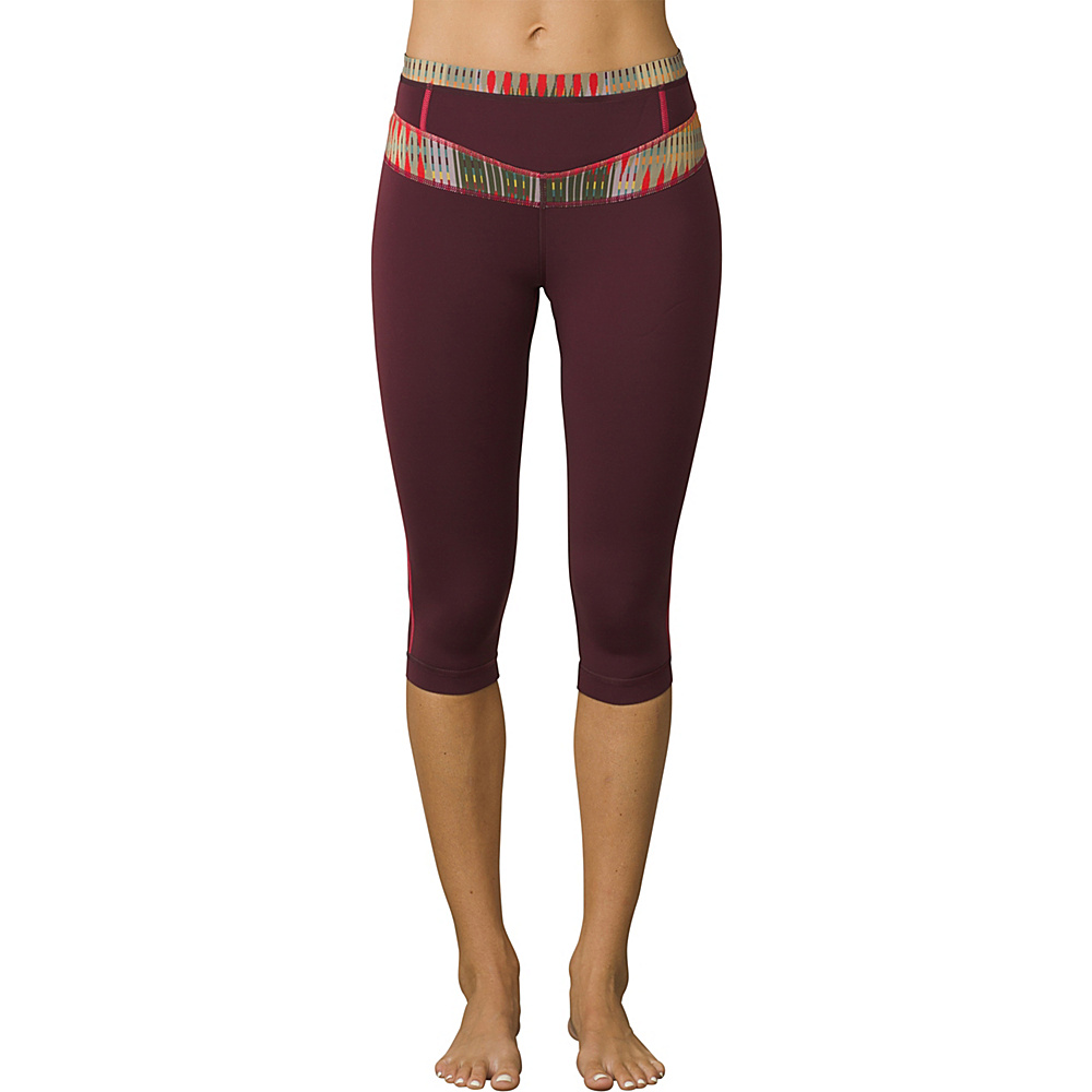 PrAna Ara Swim Tights M - Carmine Desert Geo - PrAna Womens Apparel - Apparel & Footwear, Women's Apparel