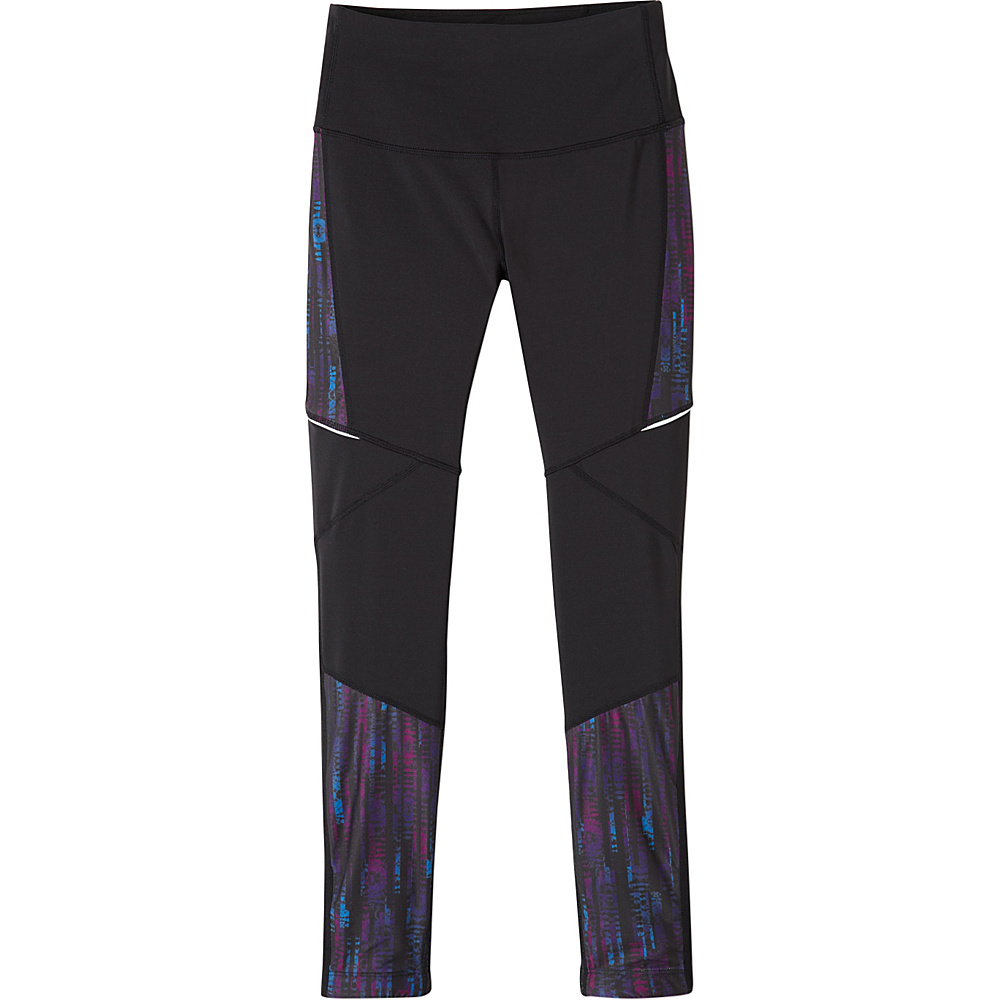 PrAna Ergo Leggings S - Black Kaleidoscope - PrAna Womens Apparel - Apparel & Footwear, Women's Apparel