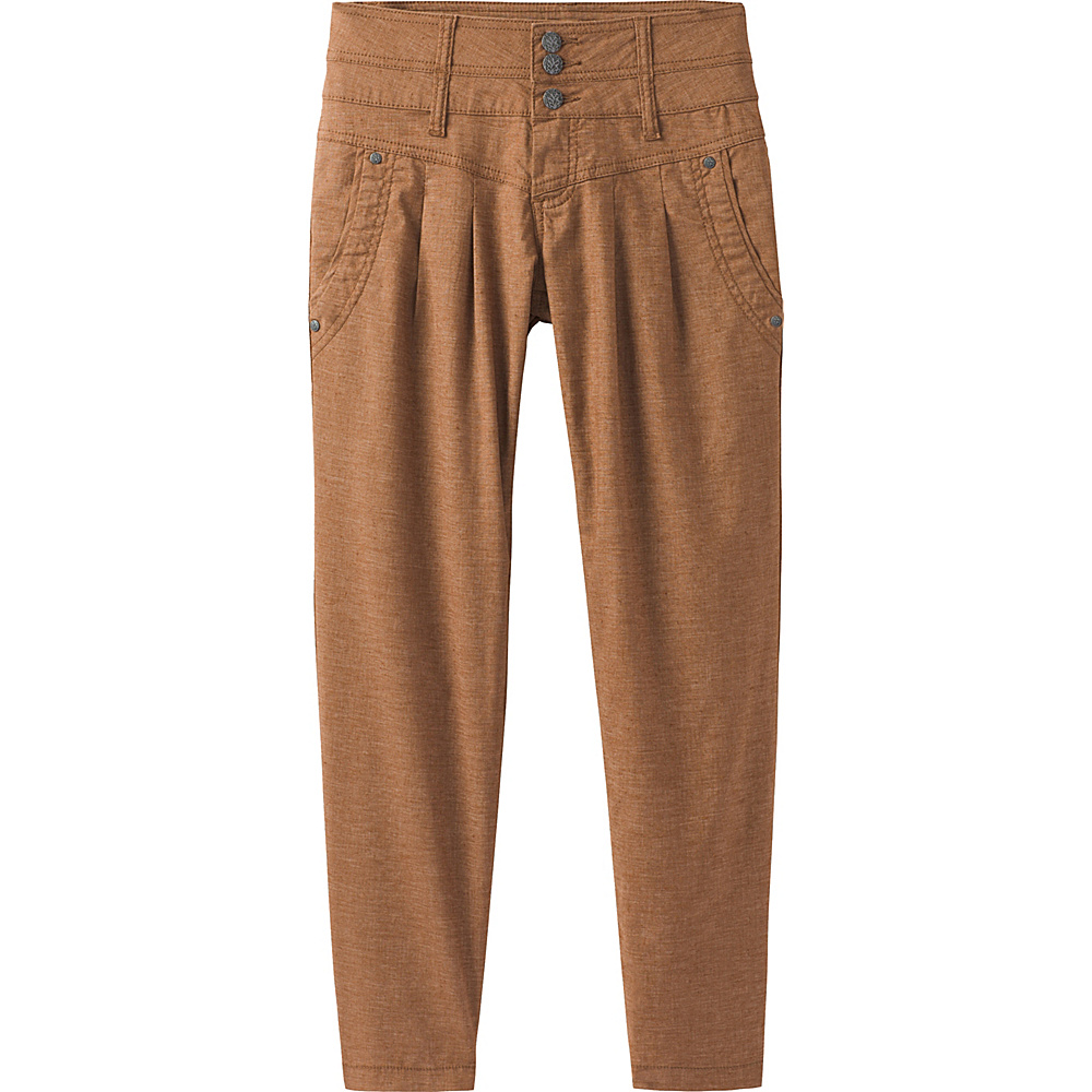 PrAna Lizbeth Capri 4 - Tree Bark - PrAna Womens Apparel - Apparel & Footwear, Women's Apparel