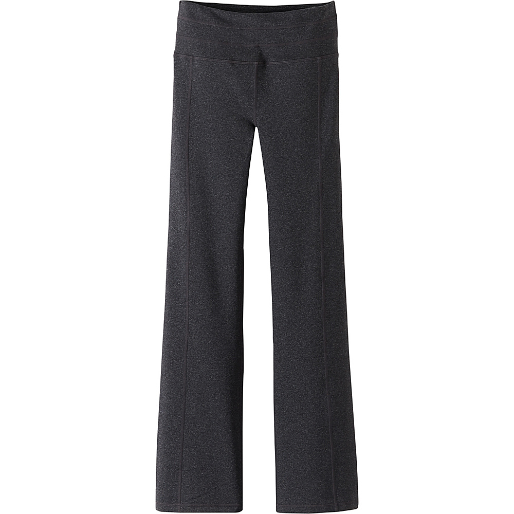 PrAna Contour Pants - Tall Inseam L - Charcoal Heather - PrAna Womens Apparel - Apparel & Footwear, Women's Apparel