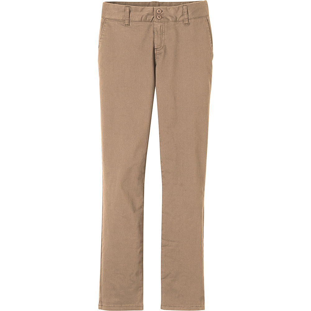 PrAna Stella Pants 0 - Dark Khaki - PrAna Womens Apparel - Apparel & Footwear, Women's Apparel
