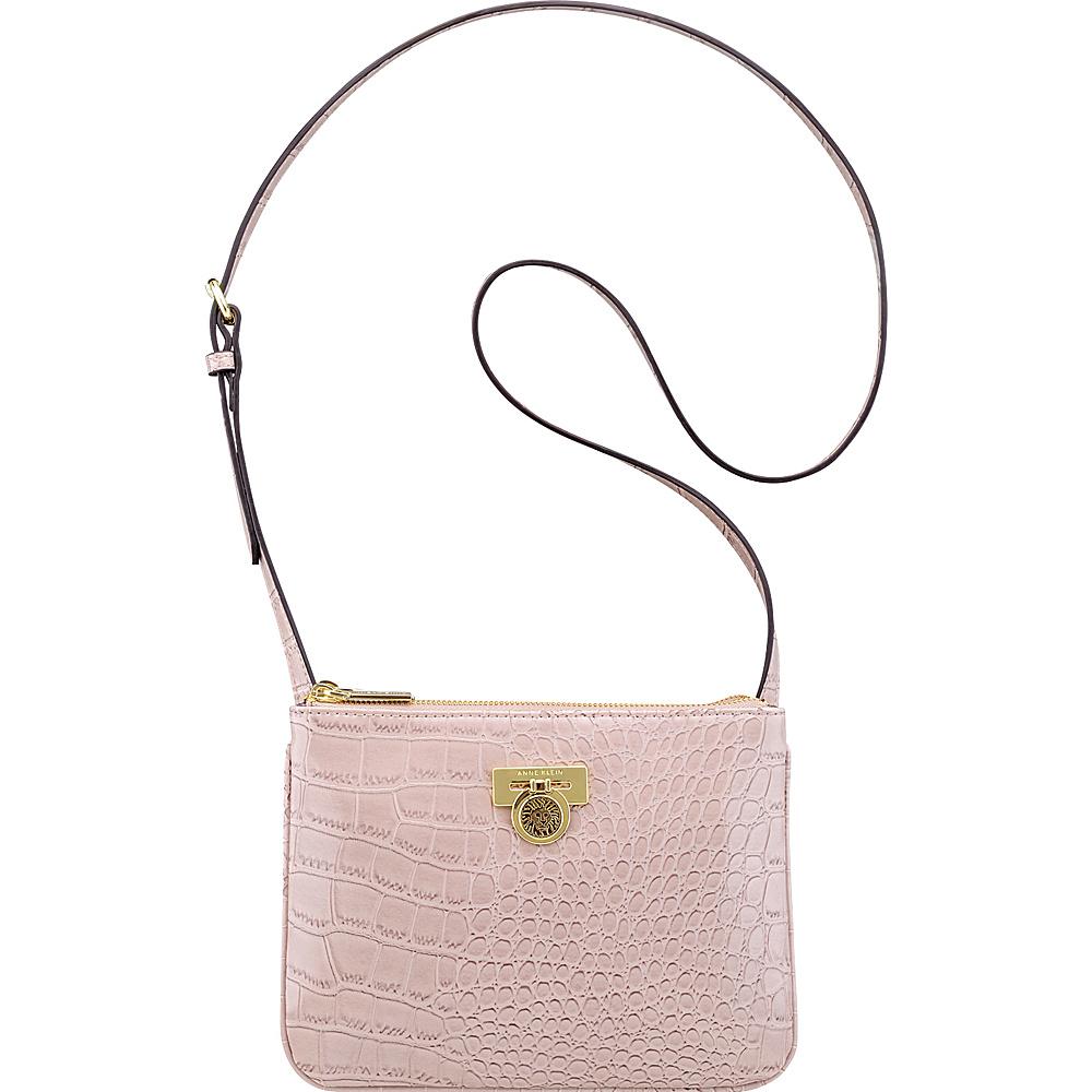 Anne Klein Total Look Small Crossbody Haze - Anne Klein Manmade Handbags