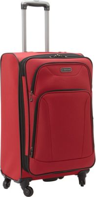 Heritage Heritage Wicker Park 24 inch Luggage Red - Heritage Softside Checked