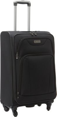 Heritage Wicker Park 24 inch Luggage Black - Heritage Softside Checked