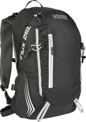 Wenzel Flux 25L Backpack Black - Wenzel Day Hiking Backpacks