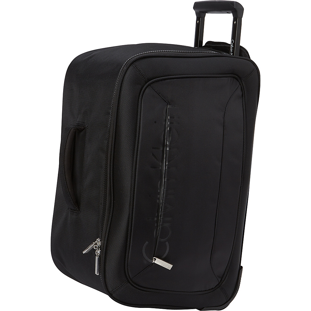 Calvin Klein Luggage Tremont 21 Wheeled Softside Travel Duffel Black Calvin Klein Luggage Travel Duffels