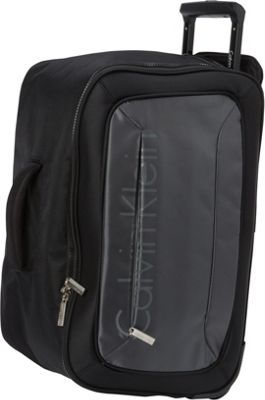 Calvin Klein Luggage Tremont 21 Wheeled Softside Travel Duffel Grey - Calvin Klein Luggage Travel Duffels