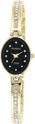 Armitron Womens Swarovski Crystal Accented Bangle Watch Gold - Armitron Watches