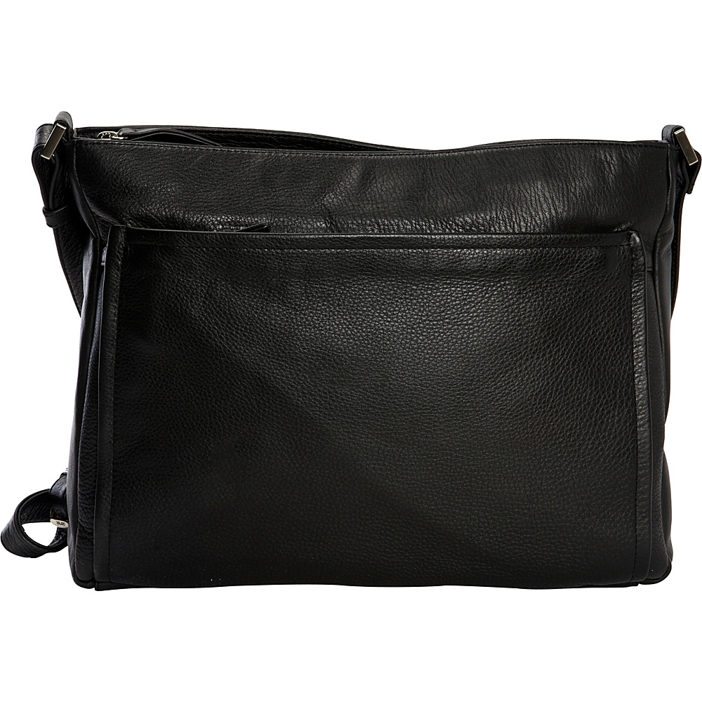 Derek Alexander Large Shoulder bag Black - Derek Alexander Leather Handbags - Handbags, Leather Handbags