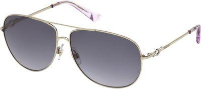 Swarovski Eyewear Aviator Sunglasses Pale Gold and Transparent Violet - Swarovski Eyewear Sunglasses