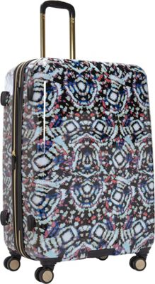 "Image of Aimee Kestenberg Malibu 28"" Checked Upright Tie Dye - Aimee Kestenberg Hardside Luggage"