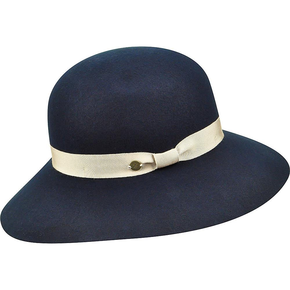 Karen Kane Hats Litefelt Floppy Hat Navy M L Karen Kane Hats Hats Gloves Scarves