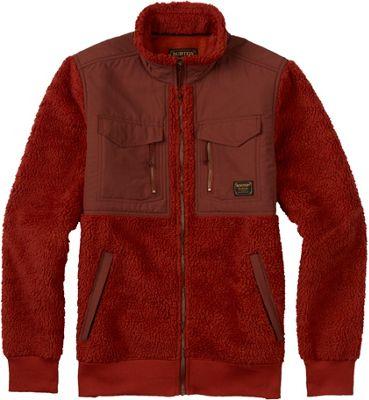 Burton Mens Bower Fleece Full-Zip S - Picante - Burton Men's Apparel