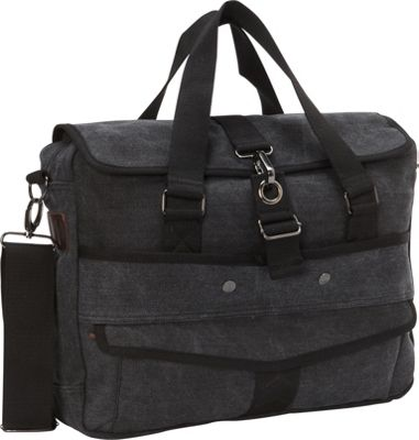 A Kurtz Cottonwood Messenger Black - A Kurtz Messenger Bags