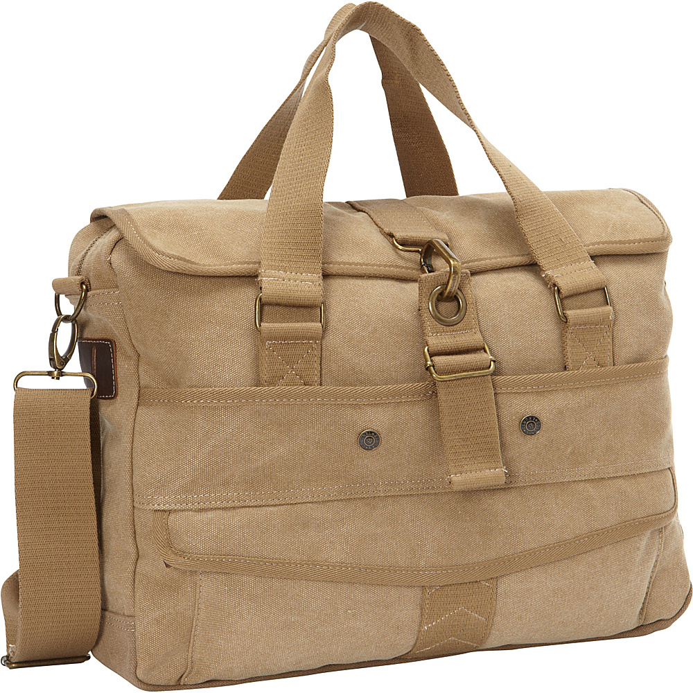A Kurtz Cottonwood Messenger Tan A Kurtz Messenger Bags