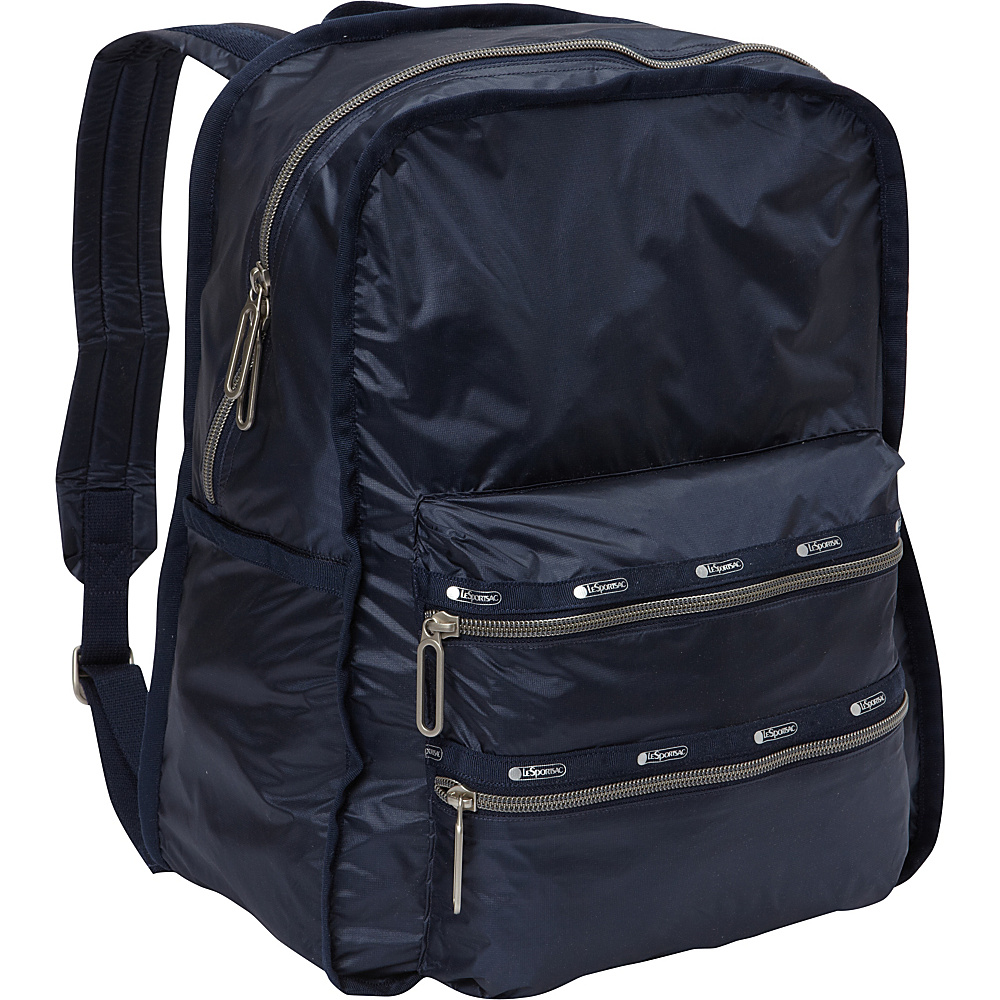 LeSportsac Functional Backpack Classic Navy C LeSportsac Everyday Backpacks
