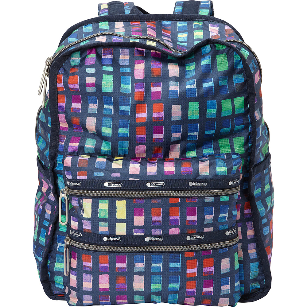LeSportsac Functional Backpack Color Blocks C LeSportsac Everyday Backpacks