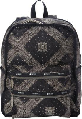 LeSportsac Functional Backpack Star Guides Black C - LeSportsac Everyday Backpacks