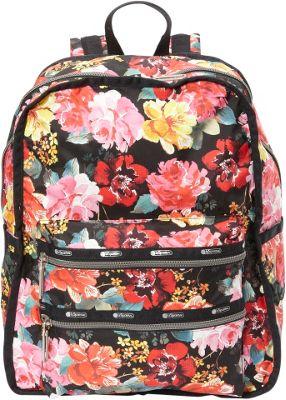 LeSportsac Functional Backpack Romantics Black C - LeSportsac Everyday Backpacks