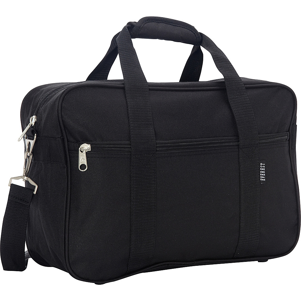 Everest Carry-On Briefcase Black - Everest Non-Wheeled Business Cases