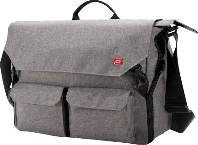 Oxio Sheenko III Laptop Messenger Light Grey - Oxio Messenger Bags