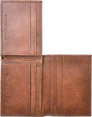Rawlings Triple Play L Fold Wallet Cognac - Rawlings Men's Wallets