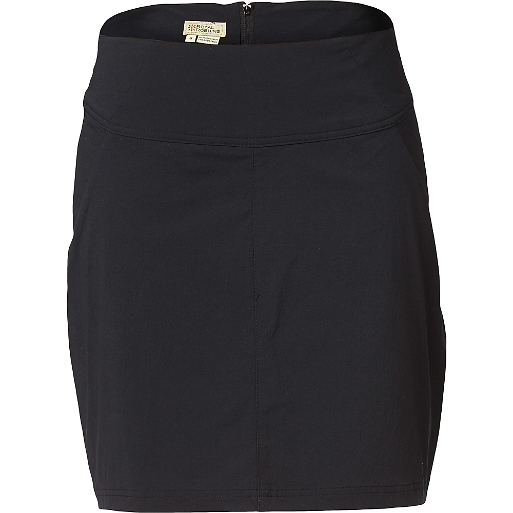 Royal Robbins Womens Discovery Skort 2 Jet Black Royal Robbins Women s Apparel